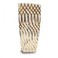 Sachet confiseur fond carton SERPENTINS OR 12 x 27,5 cm - par 100