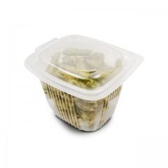 Barquette plastique transparente Ondipack 750 gr avec couvercle - par 600