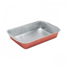 Plat aluminium couleur cuivre 3900 ml (PL4000) - par 100