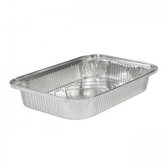 Plat aluminium refermable 2250 ml - par 50