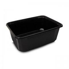 Barquette plastique scellable noire CELOTOP 1000 ml - par 300