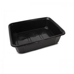 Barquette plastique scellable noire CELOTOP 750 ml - par 300