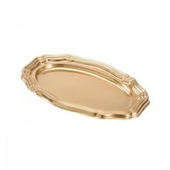 Grand plat ovale 58 x 30,5 cm argent - par 5