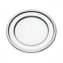Sous-assiettes rond argent Ø 30 cm - par 5