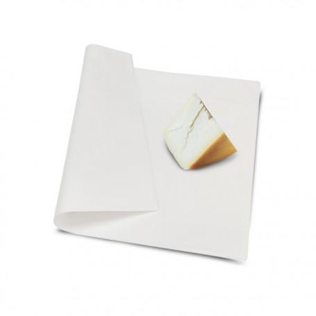 Papier paraffiné végétale Micropap 1 face 48 g/m² compostable 32 x 50 cm - par 12,5 kg