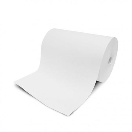 Papier paraffiné végétale Micropap 1 face 48 g/m² compostable en bobine de 33 cm - par 11 kg