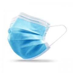 Masque hygiène 3 plis avec élastique - par 50