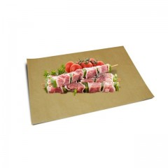 Papier thermoscellable kraft brun format 25 x 33 cm - paquet de 10 kg