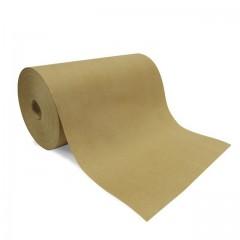 Papier thermoscellable kraft brun en bobine de 50 cm - rouleau de 12.5 kg