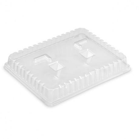 Couvercle plateau repas 29 x 22,4 x 3 cm - carton de 200