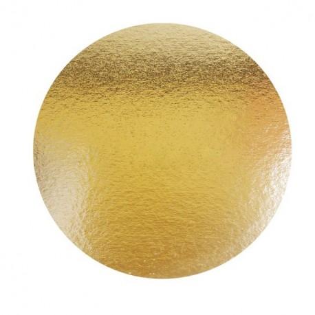 Support or double face rond diamètre 22 cm - paquet de 100