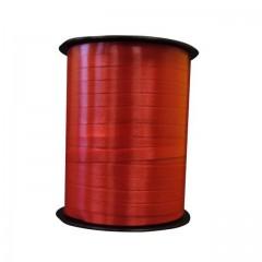Bolduc rouge mat 7 mm x 500 m - à l'unité