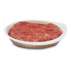 Barquette plastique blanche pour steak haché - par 2500
