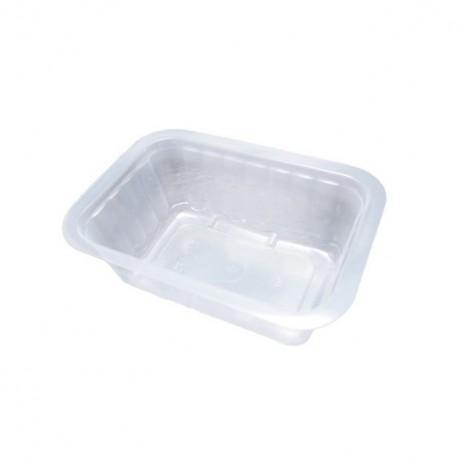 Barquette plastique scellable 375 g pas cher