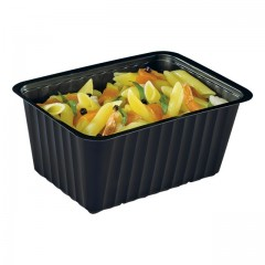 Barquette plastique scellable noire 1,5 kg (CL1500N) - par 100