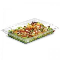 Boite plastique à salade FRESHIPACK cristale 1200 ml avec couvercle - par 180