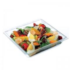 Boite plastique à salade FRESHIPACK cristale 700 ml avec couvercle - par 240