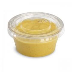 Pot plastique alimentaire pour sauce 6 cl DELIPACK