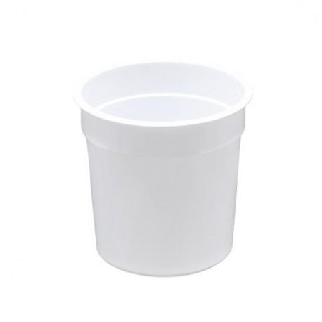 Pot à crème blanc de 12,5 cl - par 1332