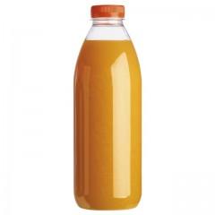 Grande bouteille plastique jetable 1L