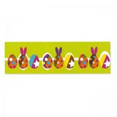 Ruban vert décor cirque de Pâques 40 mm x 20 m - à l'unité