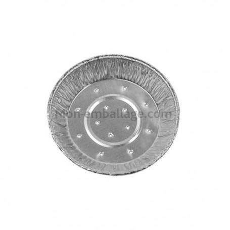 Tartelette aluminium TA111 perforée - les 2800