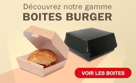 Boites burger